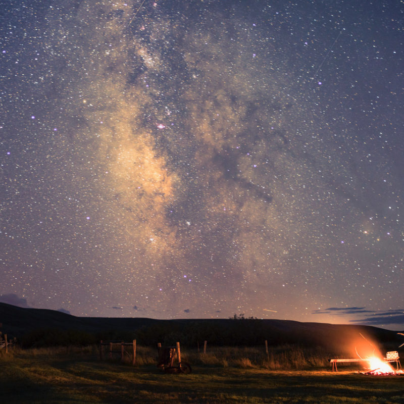 Milky Way over the ranch